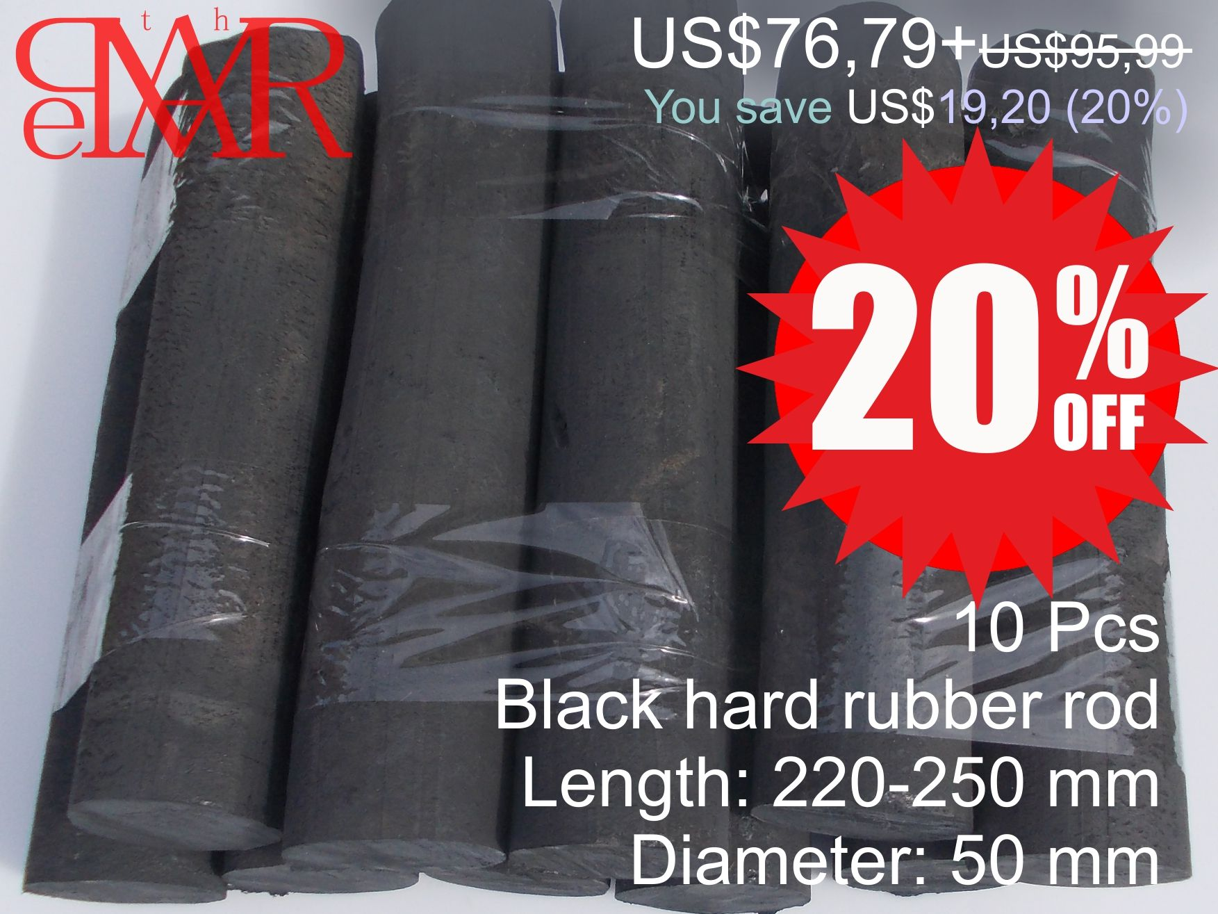 Ebonite Hard Rubber Rod Material To Produce Handicrafts Solid Black V 2020 G