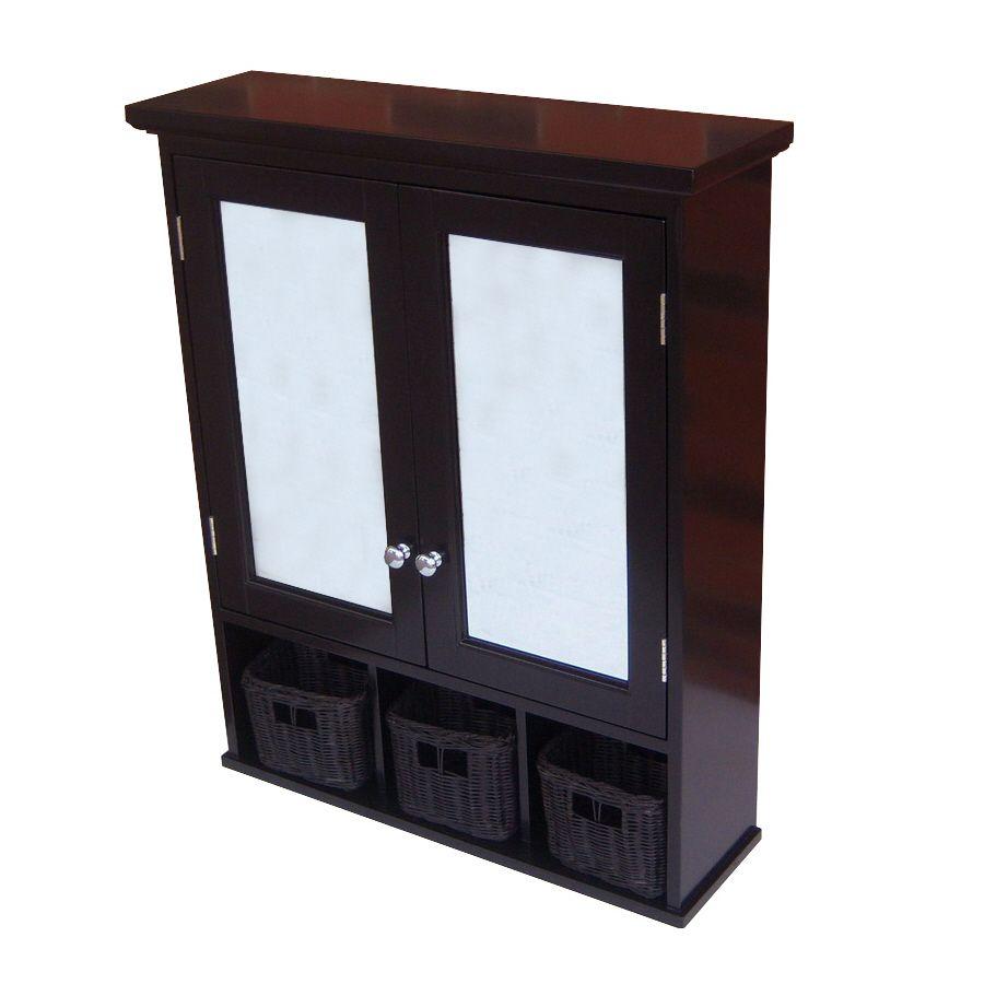 Allen Roth 24 75 In X 30 25 In Rectangle Surface Mirrored Medici In 2020 Surface Mount Medicine Cabinet Single Sink Bathroom Vanity Medicine Cabinet Mirror