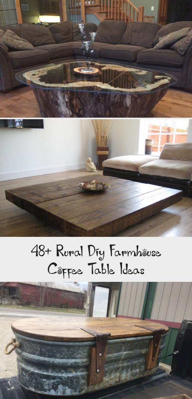 Farmhouse Round Coffee Table Coffee table farmhouse