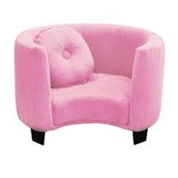 Newco Kids 15 Inch Pink Micro Comfy Chair