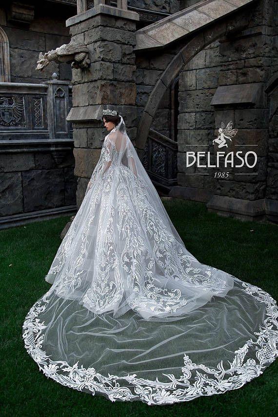 Luxury Wedding Dress Bridal Ball Gown Unique Francesca | Watch video ...