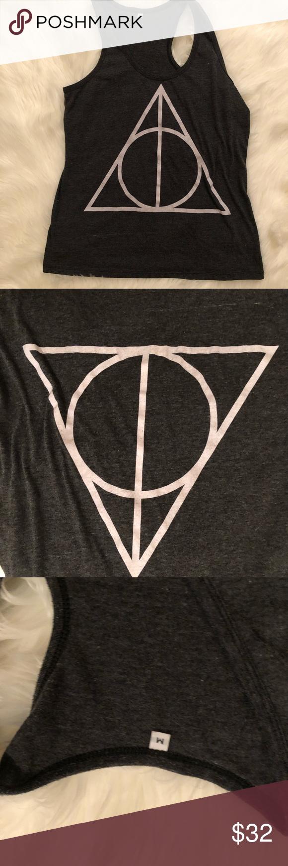 Harry Potter Deathly Hallows Tank Deathly Hallows Symbol