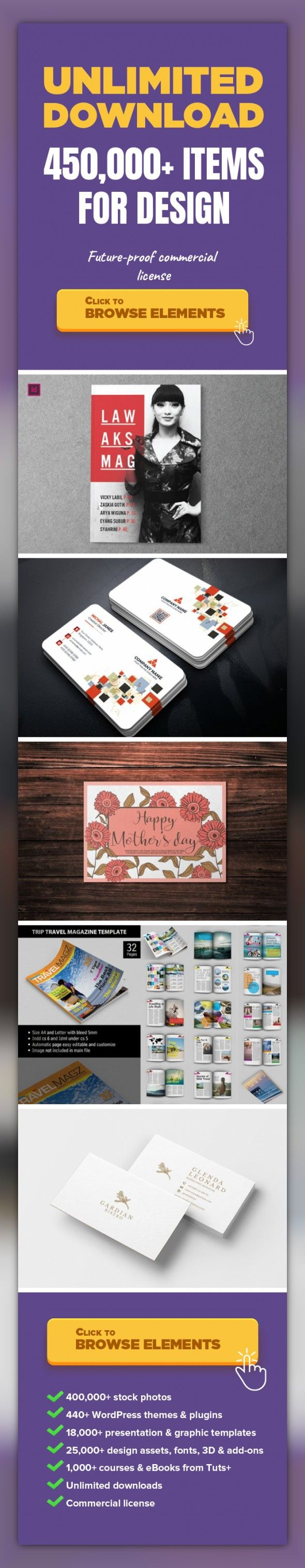 Lawaks Indesign Magazine Template Graphic Templates, Print Templates ...