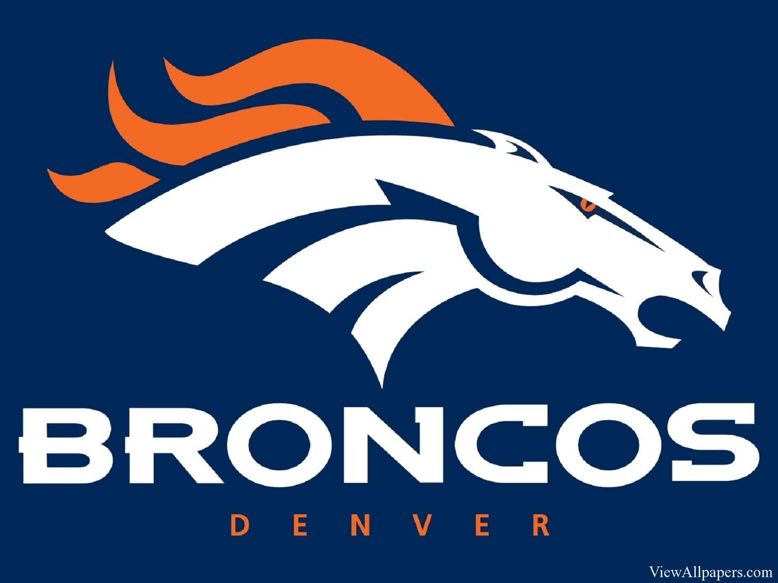 denver broncos logo wallpaper viewallpapers pinterest denver rh pinterest com Denver Broncos Logo Clip Art Denver Broncos New Logo