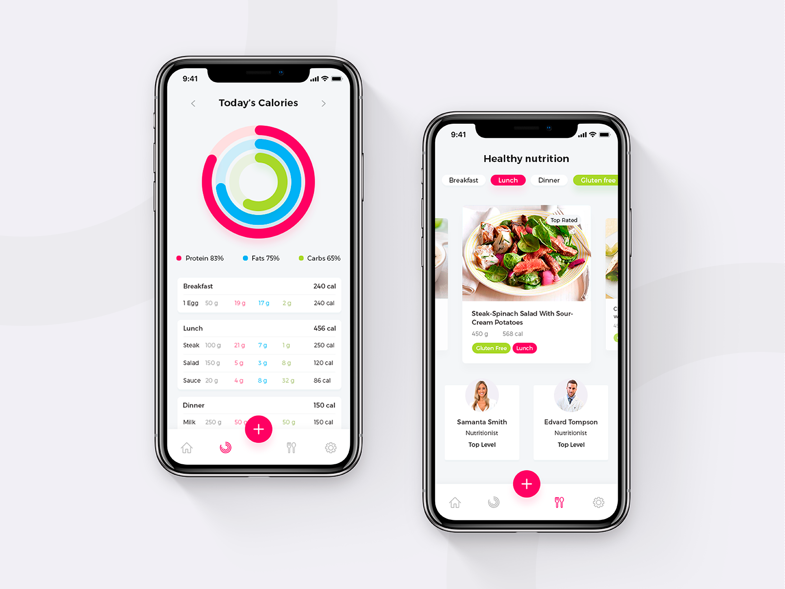 Diet Planner And Calorie Counter Nutrifit Ios App Nutrition App Diet Planner Calorie Counter