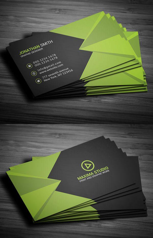 26 Modern Free Business Card Templates Psd Print Ready Design Free Business Card Design Business Card Template Design Business Card Design