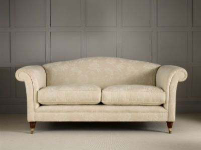 Cream floral sofa, Laura Ashley - living room furniture ...