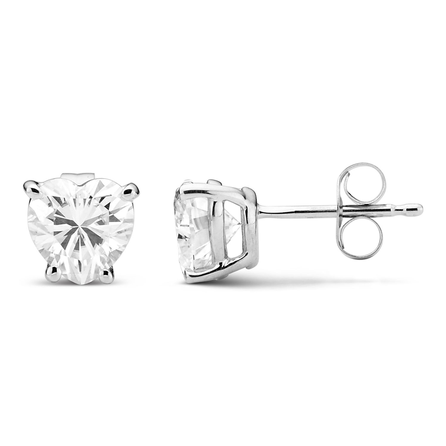 studs moissanite dsc in carat gold total stud brilliant weight ct white twt set earrings tb