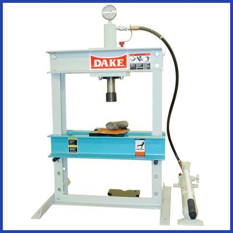 10 Ton Bench Top Manual Hydraulic Press Rubber Flooring Bench Building Foundation