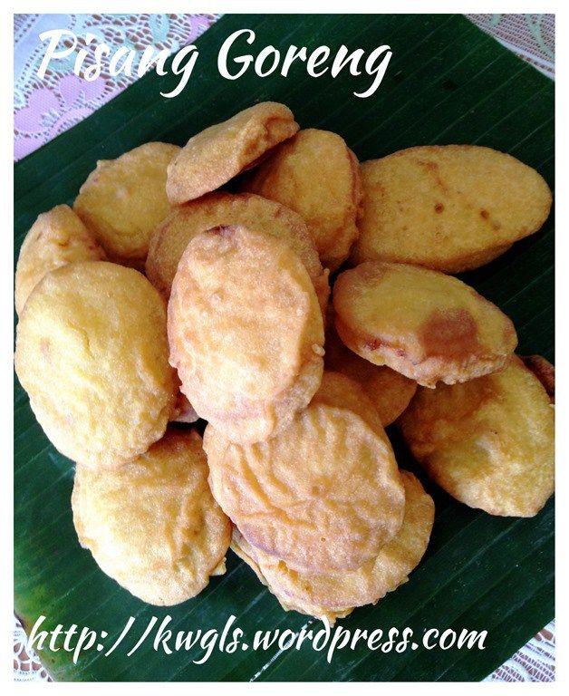 banana fritters or pisang goreng 炸香蕉 banana fritters fritters food pinterest