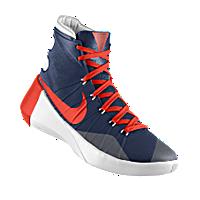 I designed the dark blue UTEP Miners Nike men's basketball shoe with orange and white trim.