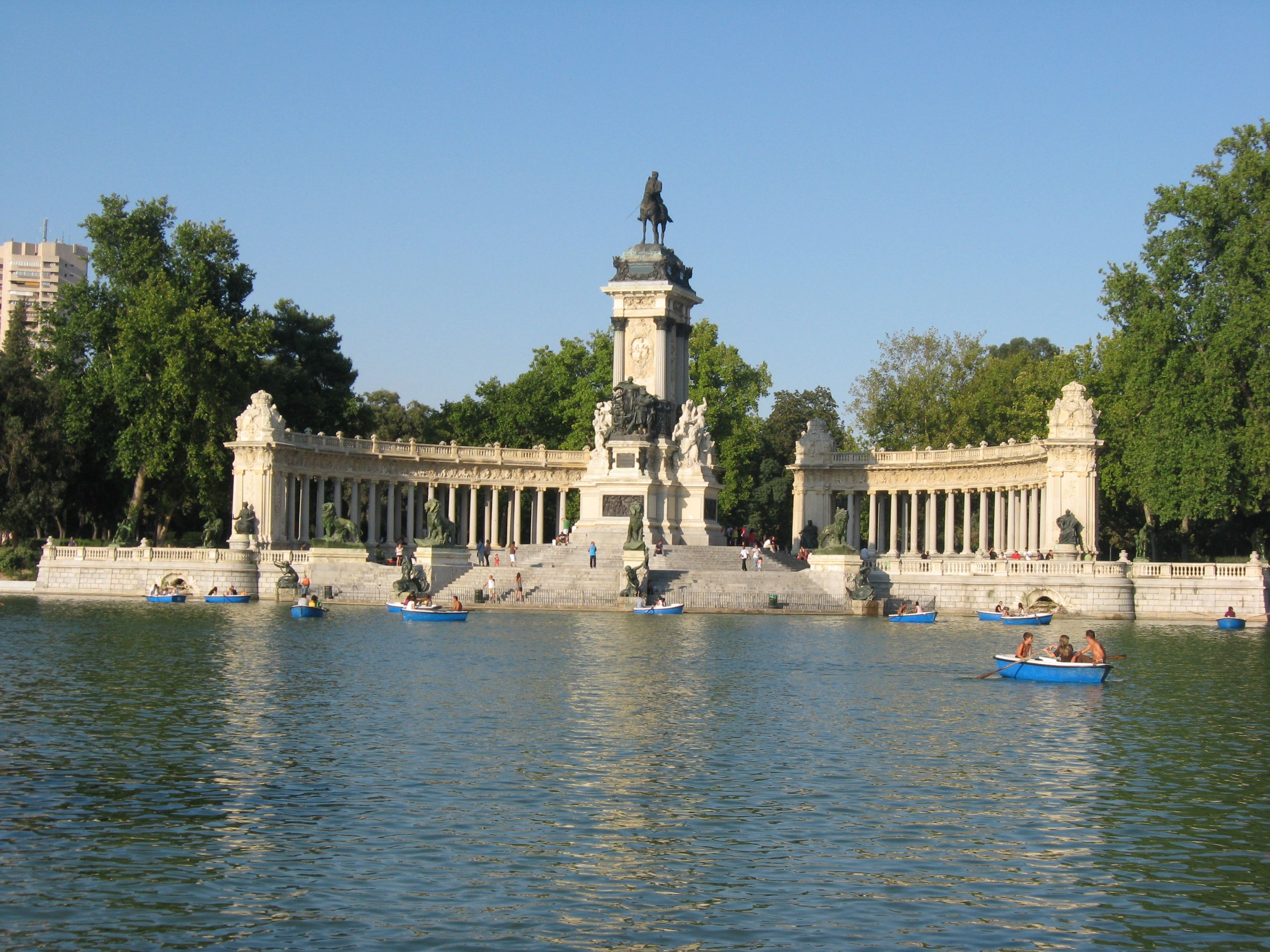 Buen Retiro Park Madrid Spain