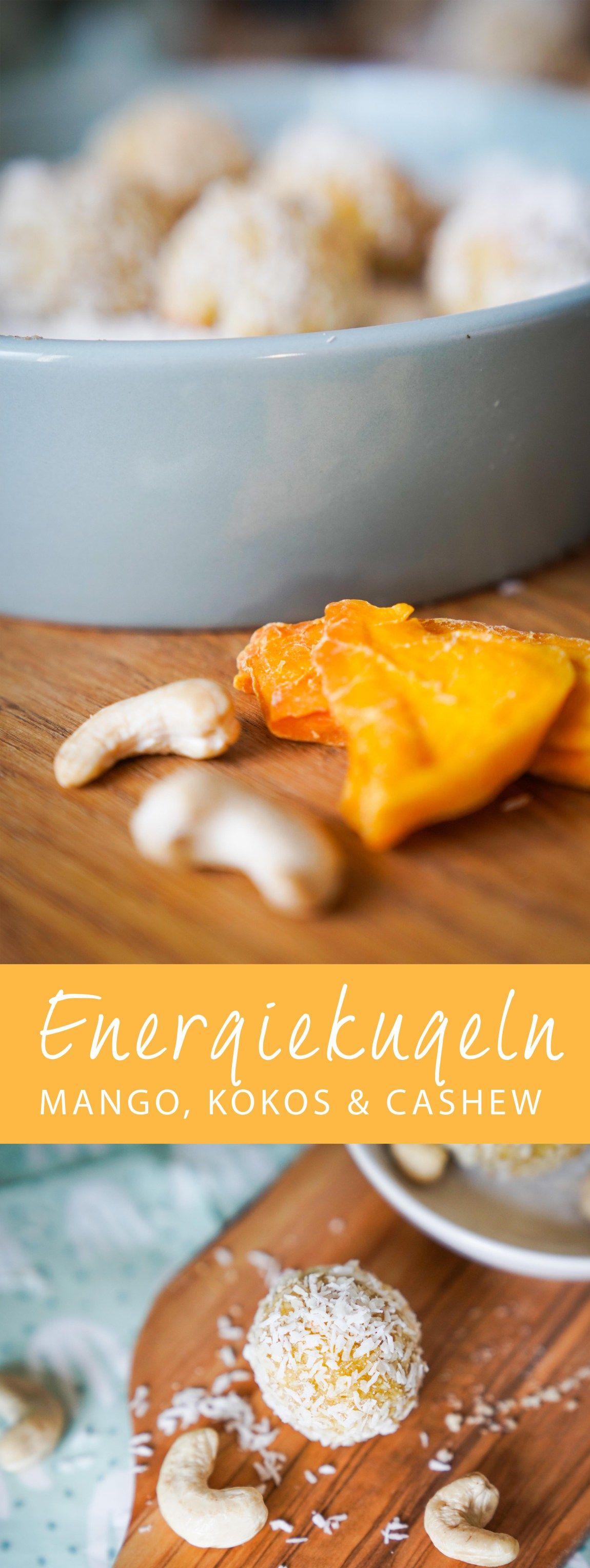 Rezept // Energy Balls - Gesund naschen // Ichsowirso.de