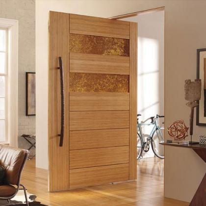 Right hand inswing large pivot door. This and many more design can ...