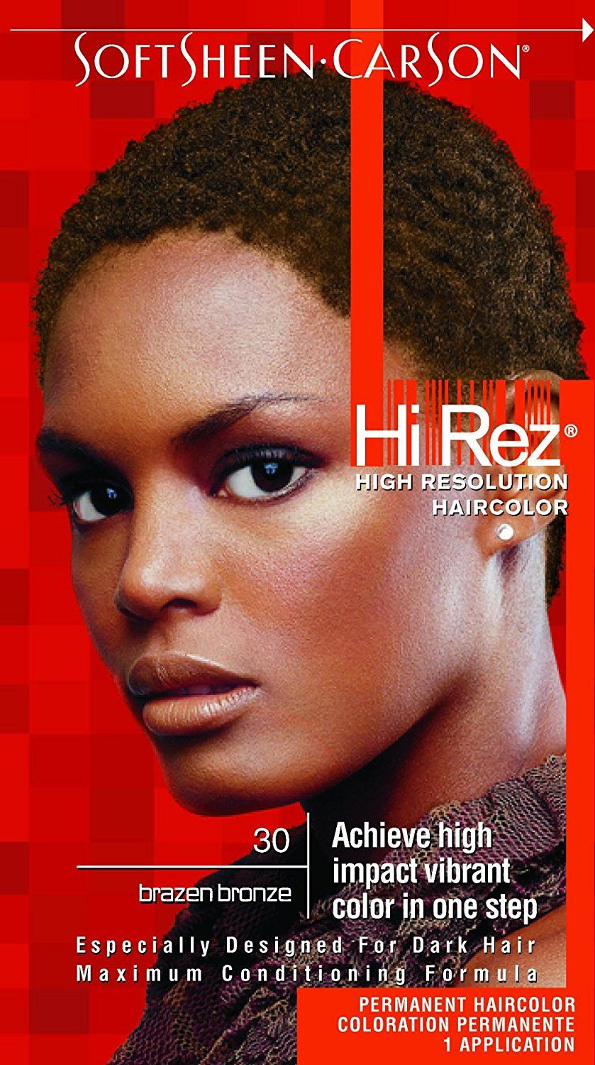 Hi Rez High Resolution Hair Color 30 Brazen Bronze Kit Pack Of