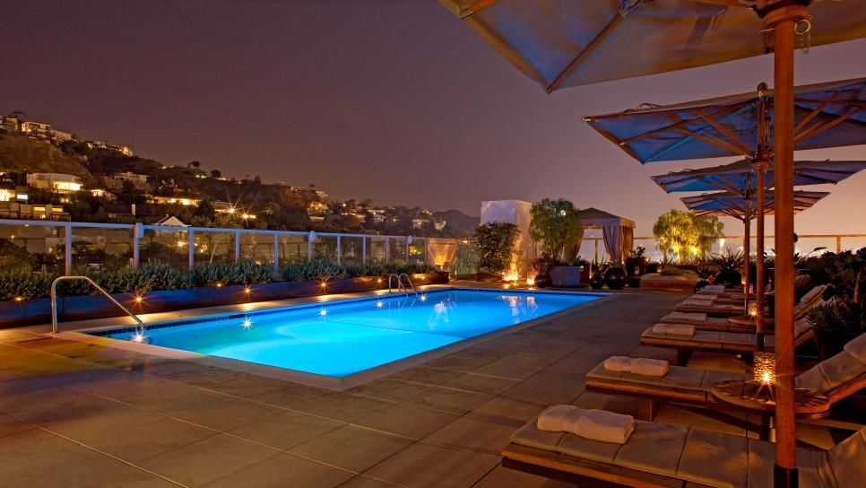Andaz West Hollywood Los Angeles Travelchannel Com Los Angeles Vacation West Hollywood Hotels Best Rooftop Bars