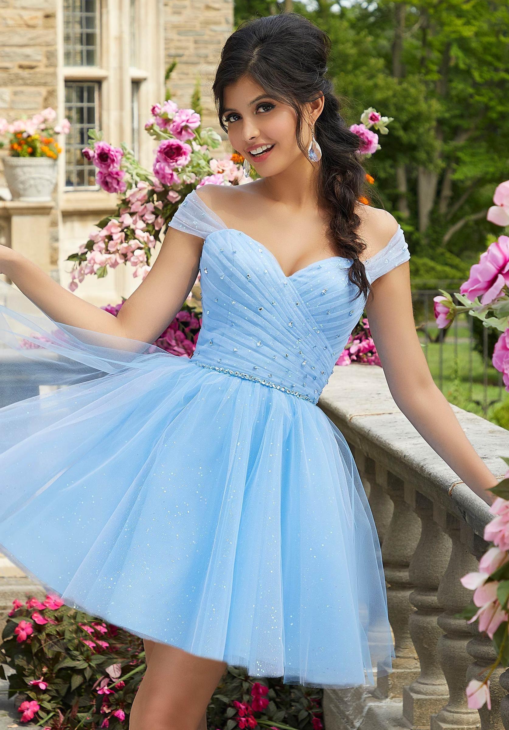 Orlando Dress Store Shop Online Quinceanera Dresses Blue Quinceanera Dresses Short Dama Dresses [ 2400 x 1674 Pixel ]