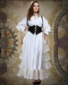 steampunk dress porn