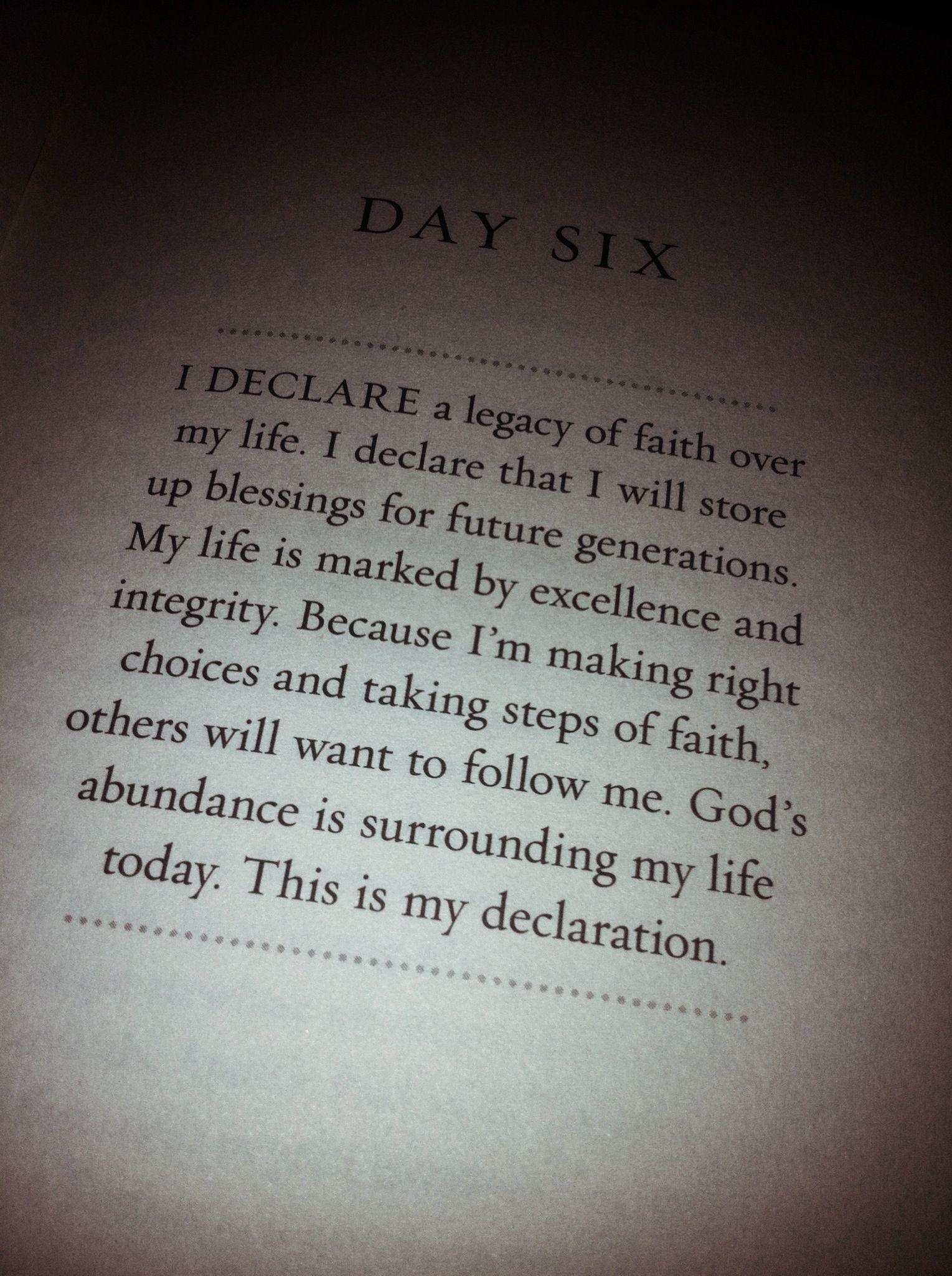 Joel Osteen Quotes On Love 31 Declarations To Speak Over Your Lifejoel Osteen Other