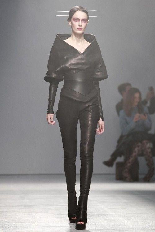 Future Fashion Avant Garde Futuristic Fashion Black