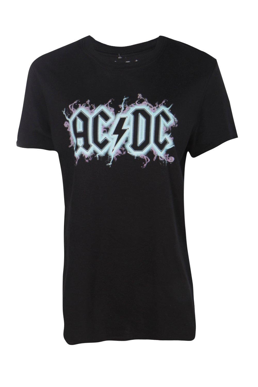 e7756abd6b4 Aria ACDC Large Slogan Band T-Shirtalternative image