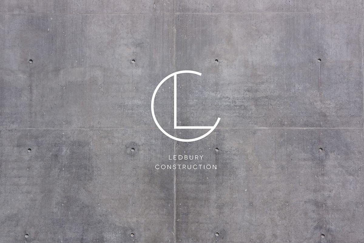 Ledbury Construction Logo Design By Shou Wei Tsai Ledbury Logo Design Branding