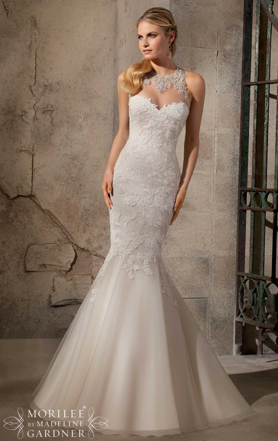A gorgeous but expensive (1,500) Mori Lee 1,200 on house of brides ...