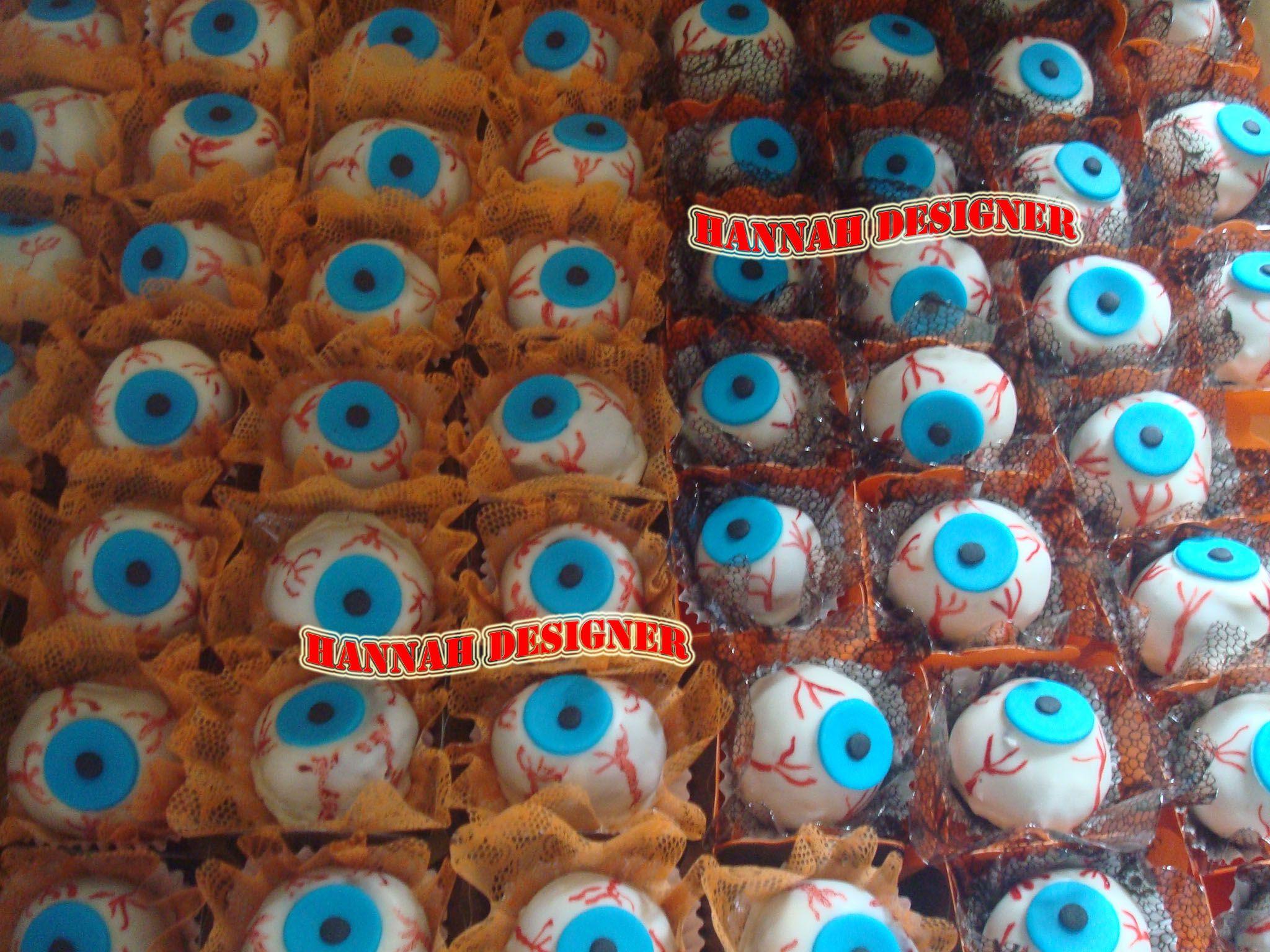 Olhos de Brigadeiro ( Festa Halloween)