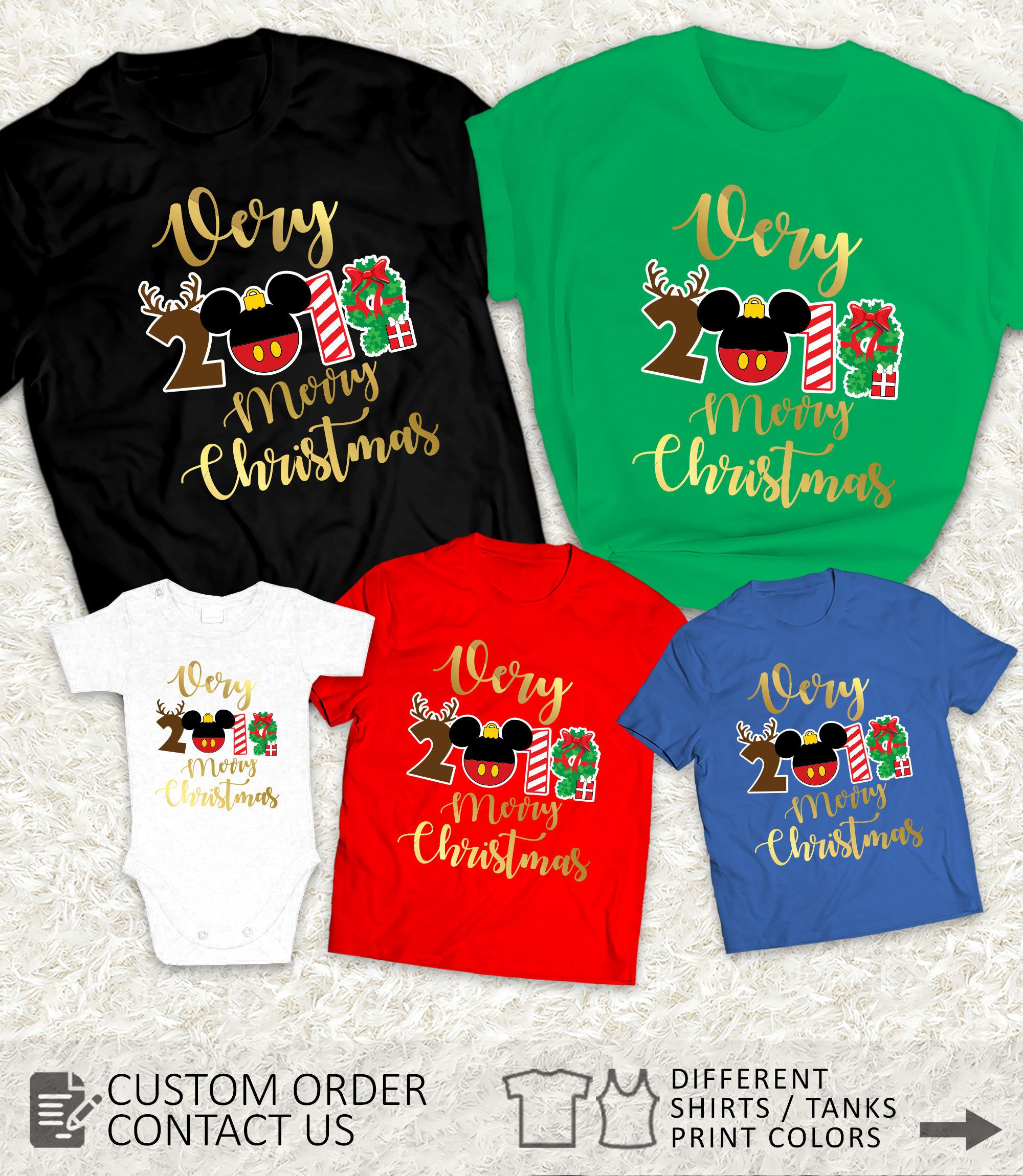 Mickeys Very Merry Christmas Party 2020 Shirt Pin on disney christmas shirts for family, couples, men and women