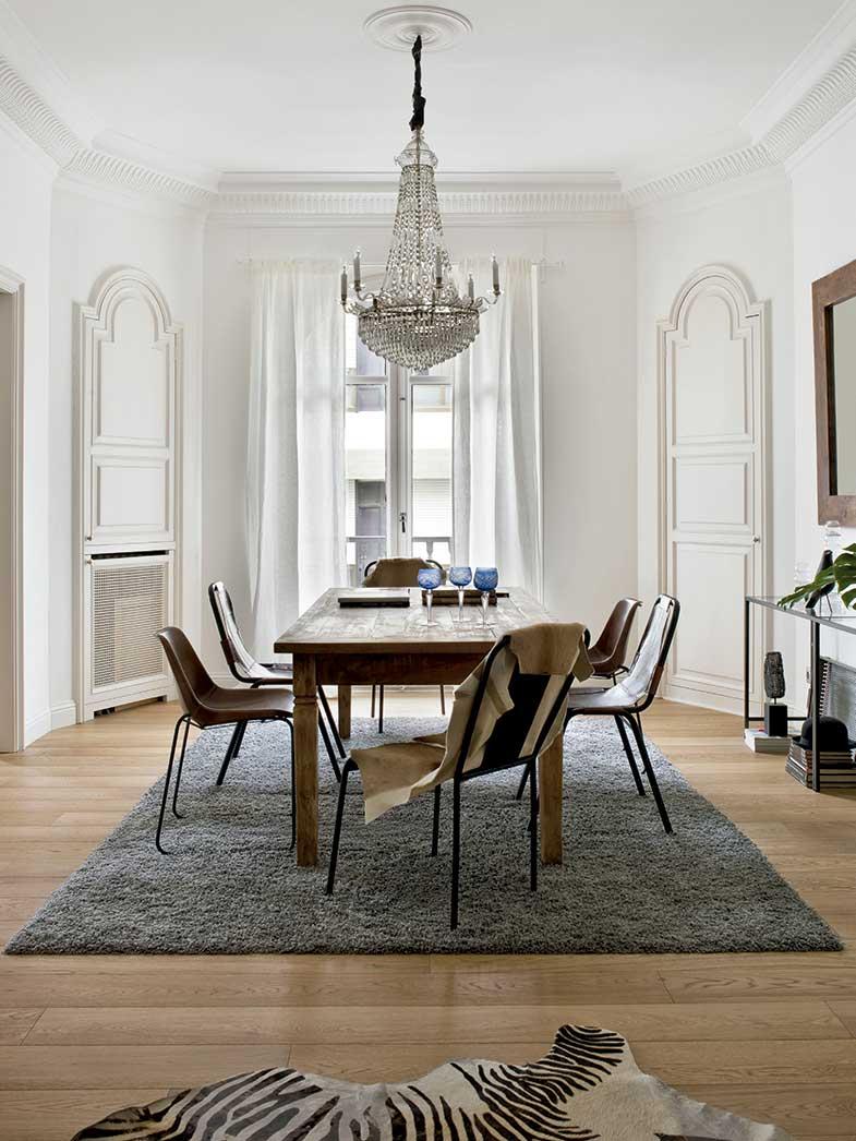 10 combinaciones de mesas y sillas para el comedor | Mesas