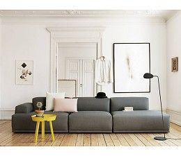 Muuto Connect Sofa - Right Open-ended Module
