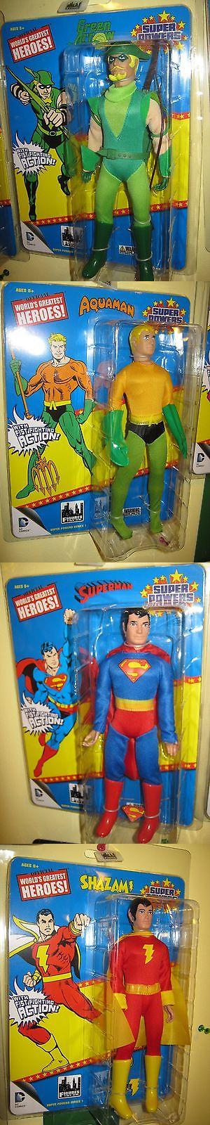 Dracula 19194: Retro Mego Wgsh 8 Dc Comics Action Figure Lot Aquaman Shazam Green Arrow Superm -> BUY IT NOW ONLY: $99.99 on eBay!
