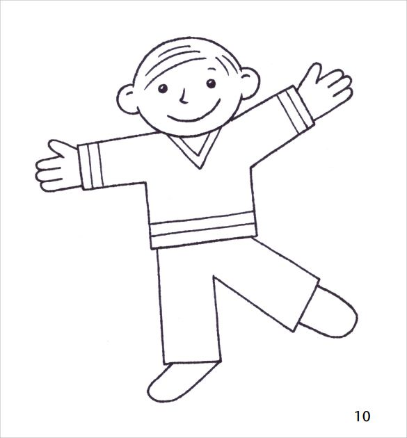 Sample Flat Stanley Template   Free Documents In Pdf Word