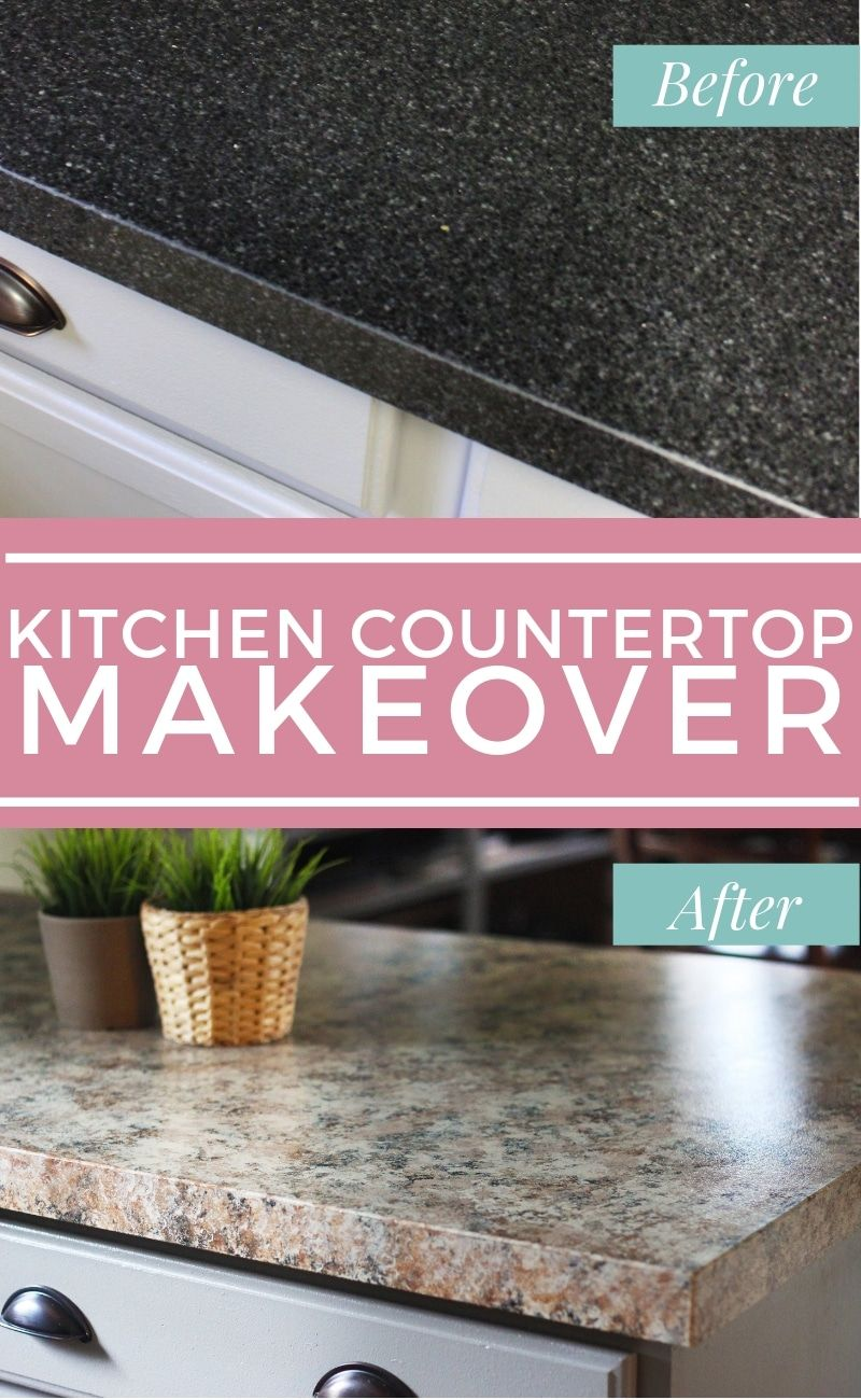 How To Makeover Kitchen Countertops In 1 Weekend Kitchen