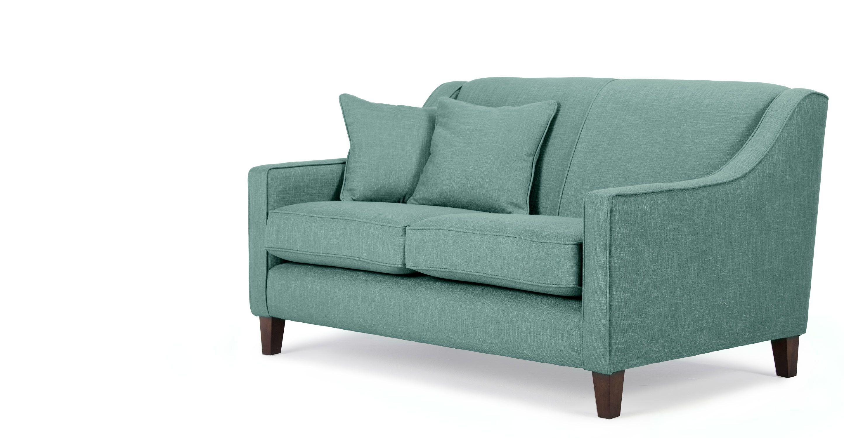 Halston 2 seater sofa in aqua made home decor pinterest explore 2 seater sofa berlin and more parisarafo Choice Image