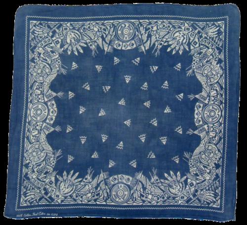 Love A Good Pattern Vintage Bandana Bandana Design Feeling Blue