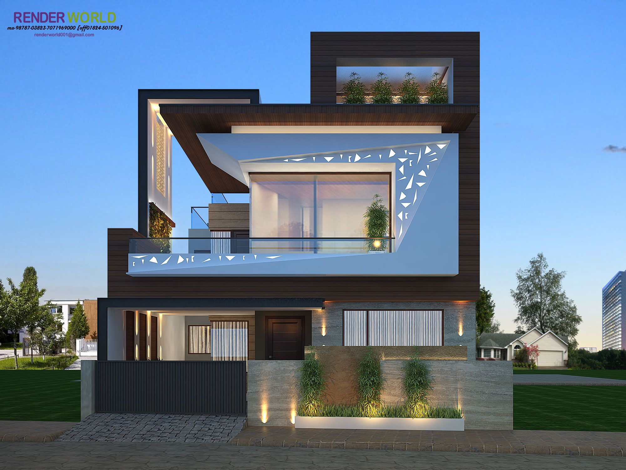modern exterior | House exterior, Modern house, House ...