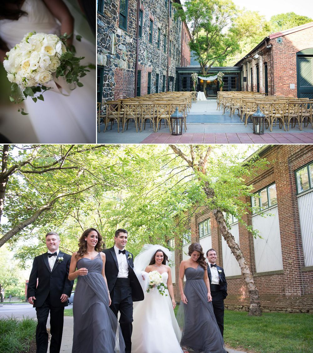 Outdoor Wedding Ceremony Rockford Il: Love That All White Bouquet With A Touch Of Greenery! Mt