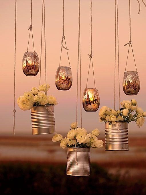Unique Wedding Idea Creative Lighting And Decor