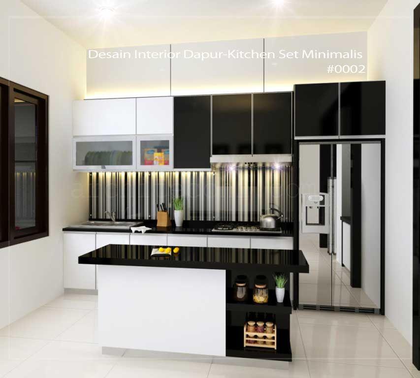 Arsitek desain interior dapur kitchen set minimalis also rh nl pinterest