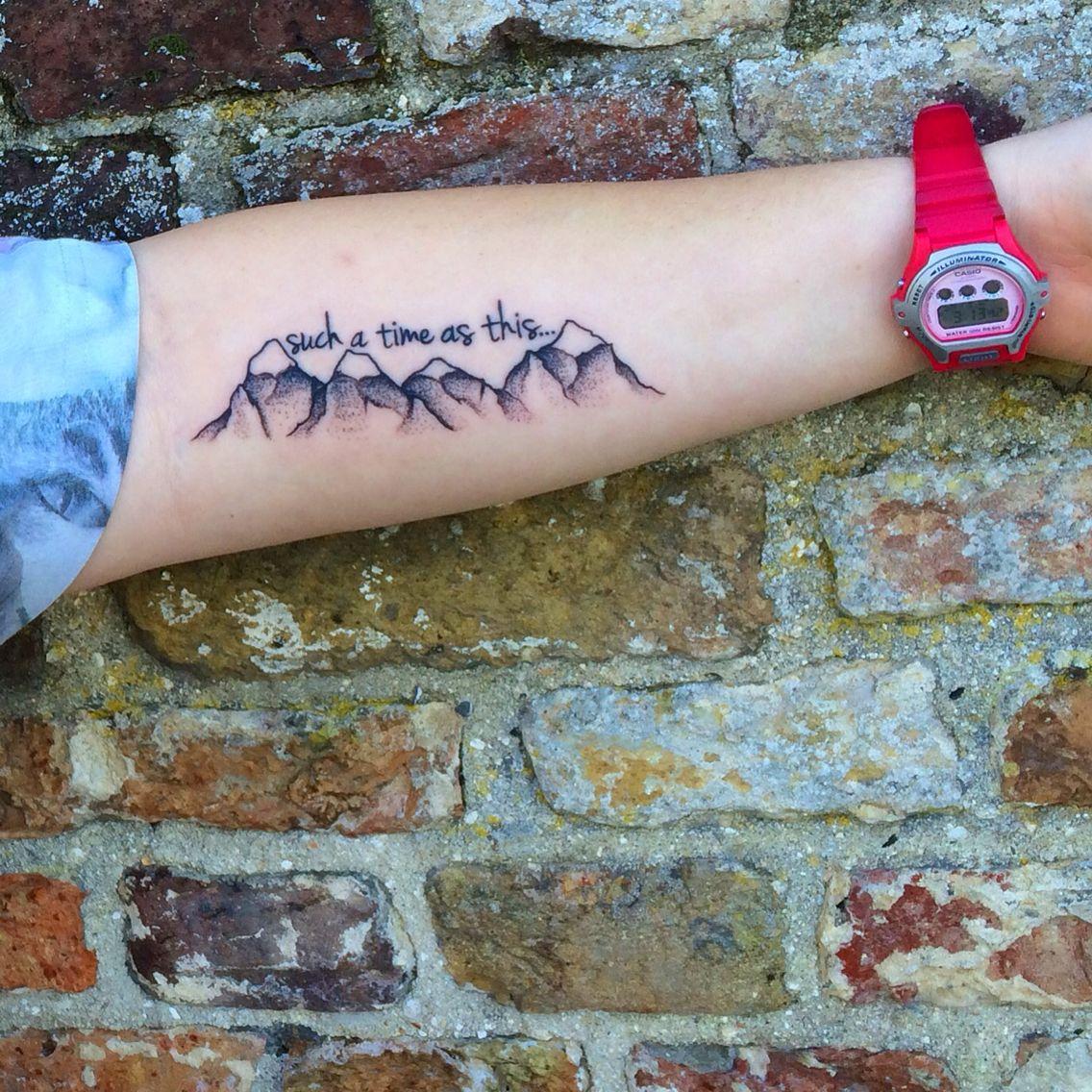 tattoo mountains minimalist Esther 414 Baby tattoos