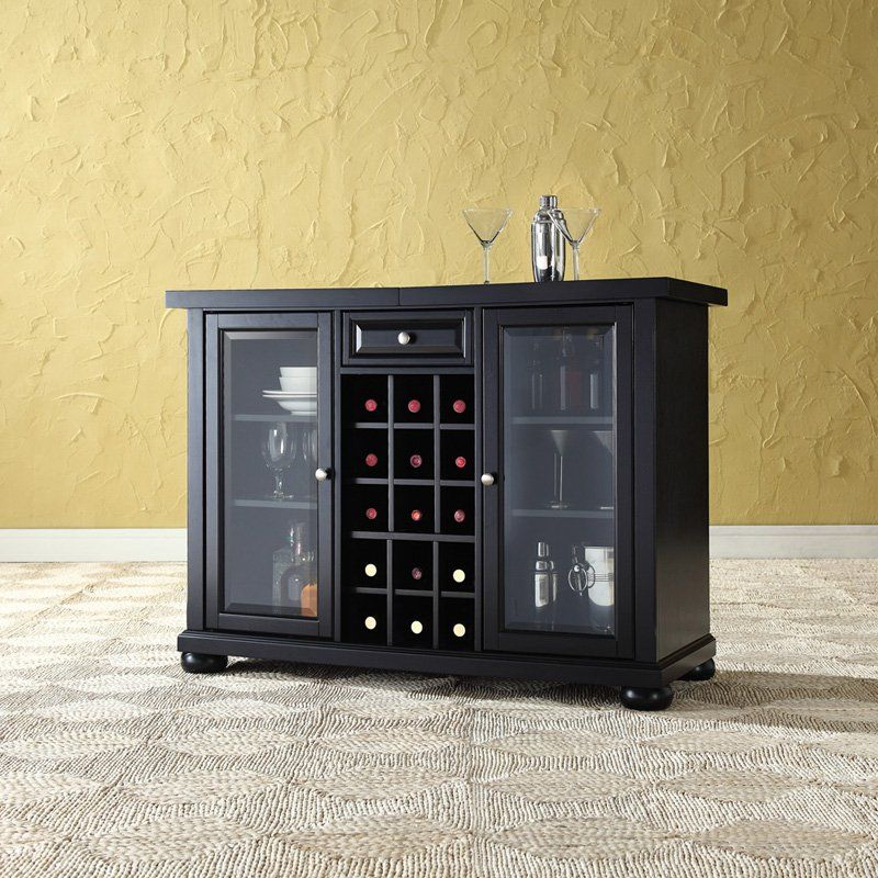 Crosley Alexandria Sliding Top Bar Cabinet | Bar furniture ...