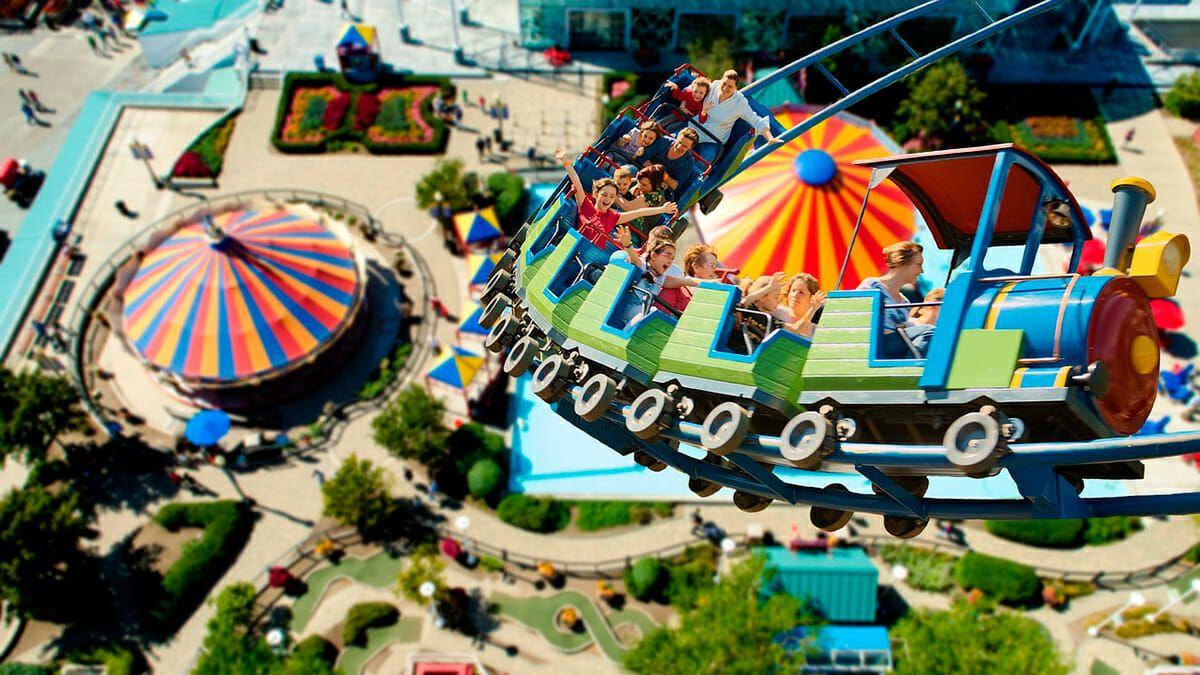 Parques de diversiones para niños en bogota