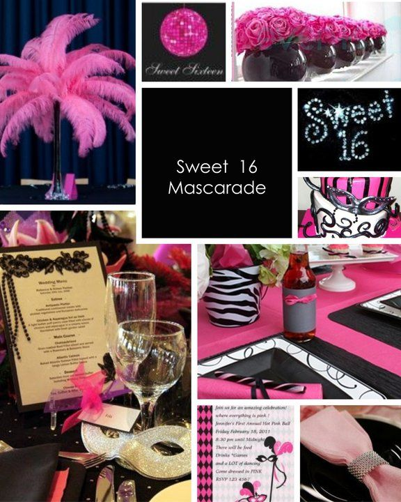 Sweet 16 Mascarade Party By Platinum Parties