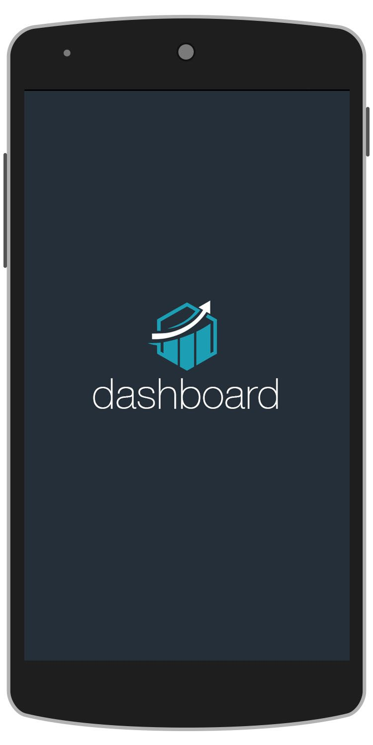 Dashboard Android Template Splash Screen