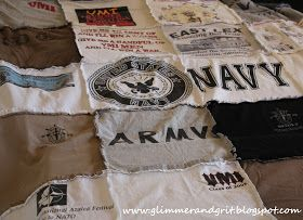 DIY T-Shirt Rag Quilt -fringe or no fringe ? ....if I ever get a sewing machine..or learn how to sew..
