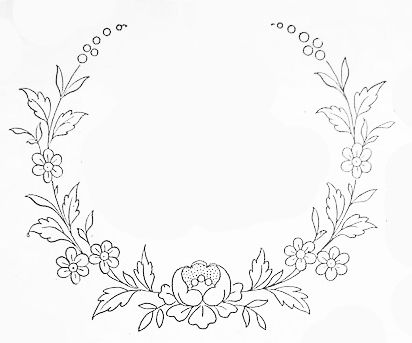 Resultado De Imagen Para Hand Embroidery Flowers Patterns Teena Classy Floral Embroidery Patterns