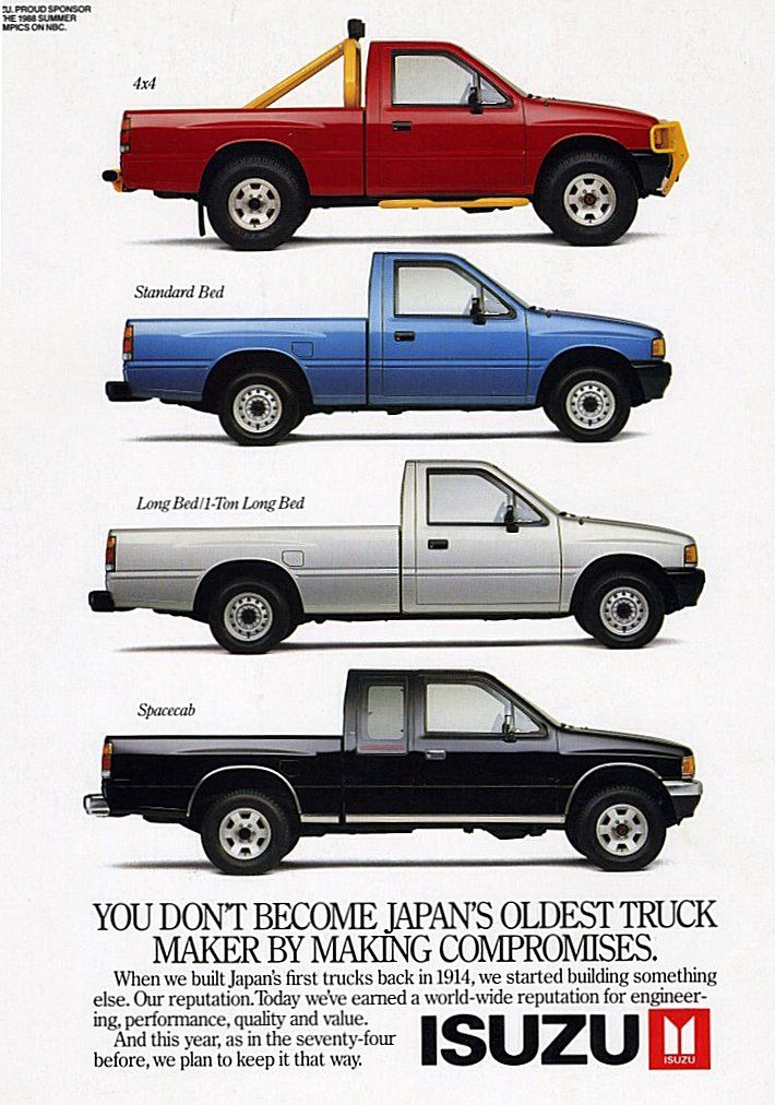 Isuzu Geek Small Pickup Trucks Datsun Pickup Retro Cars