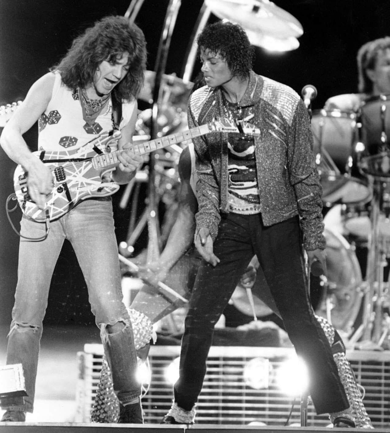 Pin By Joe A Escamilla On Guitarists Van Halen Eddie Van Halen Michael Jackson