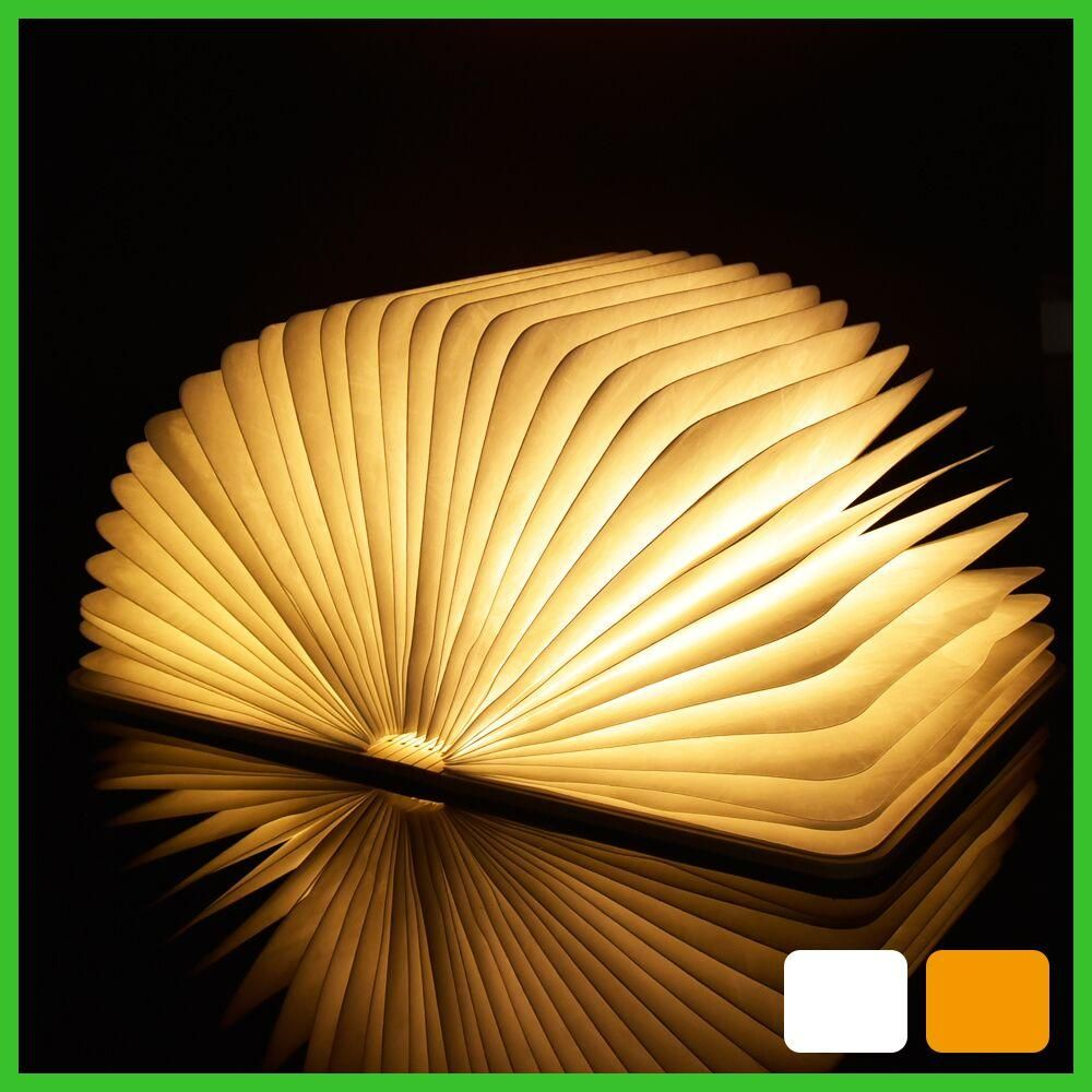 Led night light folding book light usb port rechargeable wooden led night light folding book light usb port rechargeable wooden magnet cover home table desk ceiling parisarafo Gallery
